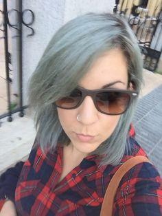 #me #hair #greyhair #haircute #style #nofilter #cute #fashion