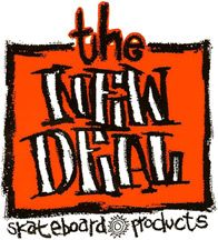 The New Deal Skateboard Products logo early 90's