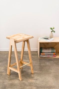 The Paddle Stool from  ĀKAU - designed with youth in Kaikohe, New Zealand // available online // as featured on Studio Home - creative talent from the lands down under
