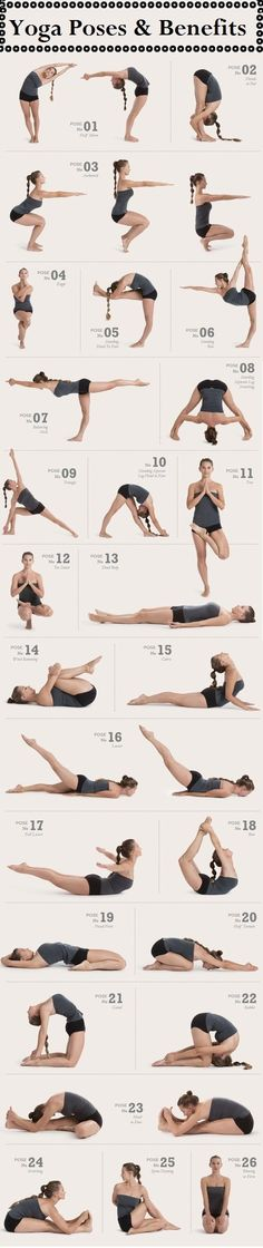 Poses basicas Yoga training
