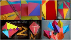 Make and fly a kite.   The Ultimate Summer Bucket List For Bored Kids