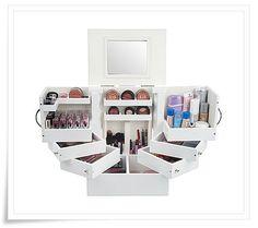 perfect makeup storage..