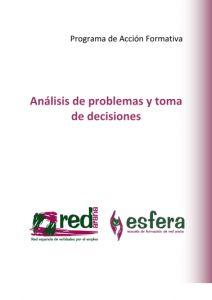 Cursos de Análisis y toma de decisiones.