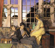 Viggo Pedersen (1854-1926) Danish Painter