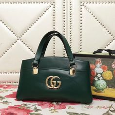 Gucci bags for sale at DFO Handbags provide you with the highest-quality Gucci handbags at the lowest prices anywhere; deep discounts on designer purses. Gucci Handbags, Luxury Handbags, Gucci Bags, Designer Handbags, Red Bags, Women's Bags, Cheap Bags, Green Bag, Bag Sale