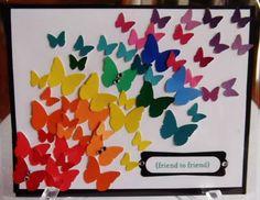 Art butterflies butterflies cards-scrapbooking-stamping