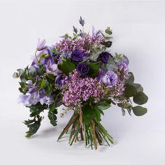 garden style flower bouquet