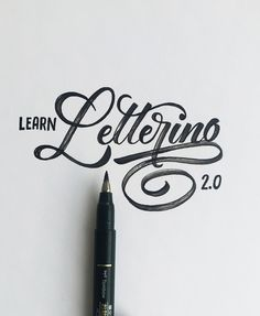 Lettering by Colin TierneyMedium used: Tombow Fudenosuke Brush Pen - Soft - Black BodyAre you interested in learning how to letter?Check out and sign up at http://LearnLettering.com/colin