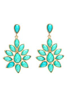 Amrita Singh - Turquoise Dune Earrings