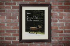 Printable Nursery Art - Canadian Elk Quote Print, Printable Wall Art Decor, Animal Print Art, Nursery Decor, Nursery Wall Art, Kids Wall Art by MDSPrintableArt  5.00 USD  What do you receive?  An 8x10 inch printable INSTANT DOWNLOAD art print.  (This is a digital file, no physical print will be mailed.)  How does this work?  When you purchase this listing, Etsy will immediately provide you with a link to your download. All you have to do is click on the link and download the