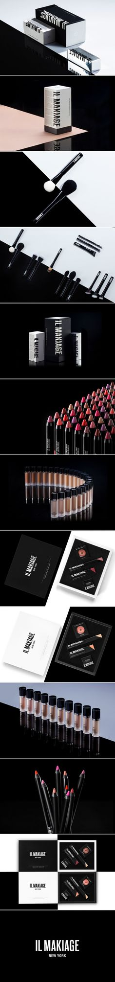 Il Makiage Cosmetics Gets a Bold Look — The Dieline | Packaging & Branding Design & Innovation News