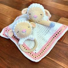 Ravelry: Sleepy Lamb Lovey and Rattle pattern by Jennifer Percival
