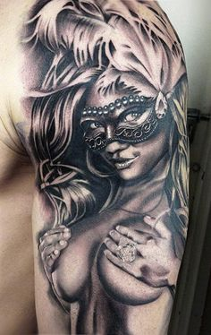 Tattoo Artist - Daniel Rocha - Woman tattoo