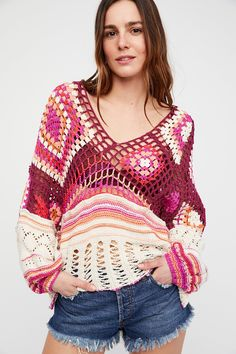 Shop our Call Me Crochet Top at FreePeople.com. Share style pics with FP Me, and read & post reviews. Free shipping worldwide - see site for details.