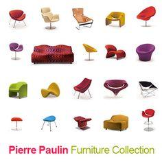3Ds Max Chair Paulin Pierre - 3D Model