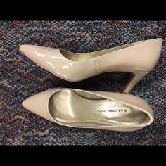 Brand New Bandolino Beige Heels Brand New in box. True to size. Pointy toed heels. Very comfortable! Offers welcome! Thanks for shopping :) Bandolino Shoes Heels