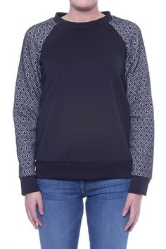 WAI MING Krissy Sweatshirt   A sportswear inspired top in Italian neoprene with raglan sleeves made of Diamond Knit fabric from Australia. Pair with a black pencil skirt for a work look that feels casual and looks phenomenal. [Available from Perch on Shoptiques]