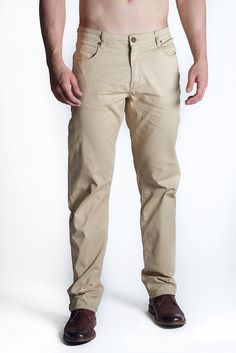 Athletic Chino Pant in Sand