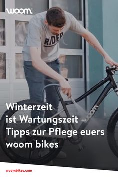 #woombikes #tippsundtricks #wartung #fahrrad #winter Fit, Blog, Winter Time, Tips And Tricks, Bicycle, Nursing Care, Shape, Blogging