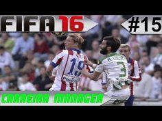 FIFA 16 - Carreira Manager #15 Atlético de Madrid