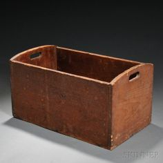 Shaker Pine Storage Box, 19th century - Andrews Collection