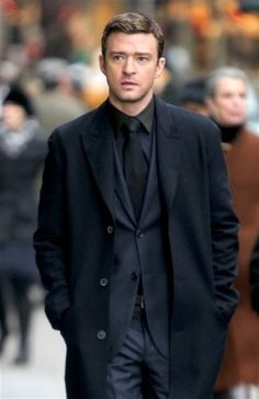 "Justin Timberlake in his ""Suit and Tie."" HOT! See more celebs on Wonderwall: http://on-msn.com/U0TPGN"