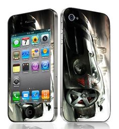 Bundle Monster Vinyl Skin Case Cover Art Decal Sticker Protector Accessories for Apple Iphone 4 Generation / 4G - Race Car - http://www.carhits.com/bundle-monster-vinyl-skin-case-cover-art-decal-sticker-protector-accessories-for-apple-iphone-4-generation-4g-race-car/