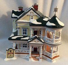 Dept 56 Snow Village Carpenter Gothic Bed & Breakfast 55043 America Architecture  | eBay