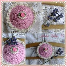 Fragrant lavender cushion (Dutch pattern)