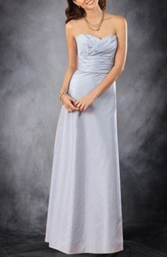 Sweetheart Sleeveless A-line Silver Bridesmaid Dresses - Bridesmaid Dresses - OuterInner.com