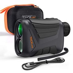 Laser Range Finder 900 Yard, RangeFinder 7X with Pin/Range/Speed/Scanning Model, USB Charging Cable, Wrist Strap, Carrying Case, 1/4'' Mounting Thread for Golf, Hunting, Hiking, Outdoor Using - MLR01 Best Golf Rangefinder, Macbook, Golf Gadgets, Golf Range Finders, Cheap Golf, Hunting Accessories, Best Budget, Decathlon, Golf Outfit