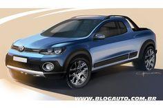 by Chris Roos Car Design Sketch, Car Sketch, Volkswagen, Suv Trucks, Pickup Trucks, 4x4, Vw Group, Crossover Suv, Vw Cars