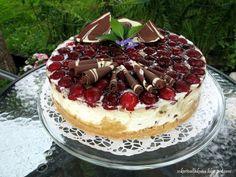 Sokerivaltakunta: Stracciatella juustokakku, kirsikan kanssa