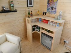 Premium Bar Counter Micro Pub Man Cave Summer by WilliamsJoinery Man Cave Shed, Man Cave Garage, Man Cave Home Bar, Man Shed Bar, Garage Man Cave Ideas On A Budget, Garage Bar, Diy Home Bar, Home Pub, Bars For Home