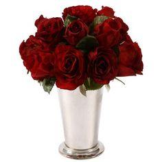 Rose Arrangement in Red II