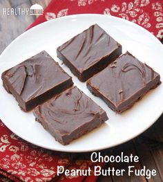 Chocolate Peanut Butter Fudge --- 1 (3.5 oz) bar 70% dark chocolate ( Lindt),in pieces ¼ c unsalted butter, cubed ½ c creamy peanut butter 1 tsp vanilla ¼ cup xylitol* Heat ingredients in med saucepan, very low heat, stirring often (don't burn). Remove as soon as melted. Stirring until smooth. Transfer to wax paper lined 8 in sq pan. Refrig covered with plastic wrap til set, (2 hr). Cut in 16 sq's Refrig in air tight container (separated w wax paper.)