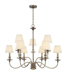 Buy the Hudson Valley Lighting Antique Nickel Direct. Shop for the Hudson Valley Lighting Antique Nickel Menlo Park 9 Light Wide Chandelier and save. Decor, Hudson Valley Lighting, Menlo Park, Lighting, Light Shades, Bronze Chandelier, Traditional Chandelier, Chandelier, Chandelier Shades