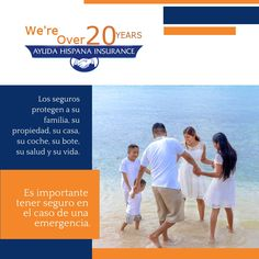 Te protegemos a ti y a los que mas amas Ads, Life Insurance, I Will Protect You, Get Well Soon, Salud