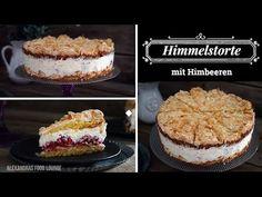 Himmelstorte mit Himbeeren - YouTube Cheesecake, Pie, Food, Youtube, Gastronomia, Frozen Desserts, Food Items, Raspberries, Food And Drinks