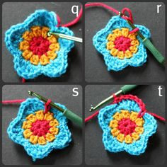 I wanted to make some flowers to decorate my hanging rail with when I do markets. In my head I know exactly what I want them to look lik...