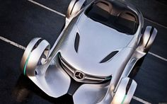 Mercedes Silver Arrow – futuristic concept for Hollywood, future car, futuristic vehicle, concept car