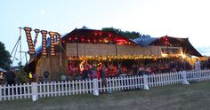 Ramblin' Man Fair VIP designed and built by The Halo Group. #VIP #FestivalVIP #FestivalStructure #TemporaryStructure