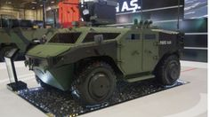 FNSS PARS 4x4 armored combat vehicle apc ifv with remote control turret system produced by ASELSAN