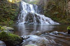 La cascade des Saliens - cascade du bas