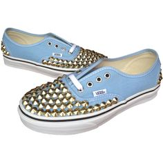 Studded Vans authentic shoes made especially for you! I can customize all sizes, any color available on the Vans website, and in any size. I have both silver a…