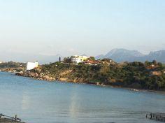 View from Escape Beach in North Cyprus www.cyprusluxurydestinations.com #weddings #weddingplanner #northcyprus #apartments #villas #travel #honeymoons #spas #weddingveil #lingerie #food #bridal #weddingdresses #grooms #shoes #jewellery #flowers #cyprusluxurydestinations