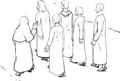 """Képtalálat a következőre: """"jesus and his disciples"""""""
