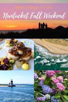 Looking for a fall road trip? Visit the island of Nantucket off the coast of Cape Cod, Massachusetts. Ocean breezes, New England charm, lighthouses and delicous local food are waiting. | What to do in Nantucket. | Best activities in New England.| USA | East Coast island getaway