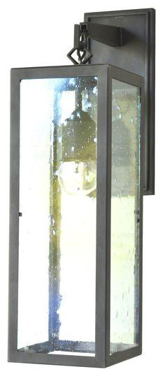 966 Transitional Bracket Arm Lantern  Transitional, Metal, Wall Lighting by Adg Lighting