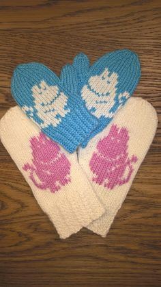 Knitting Charts, Knitting Socks, Knit Socks, Little Cotton Rabbits, Tove Jansson, Hobbies And Crafts, Knit Crochet, Gloves, Children
